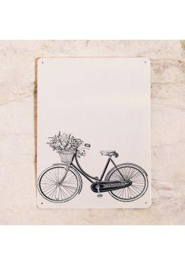 Магнитная доска - ретро велосипед