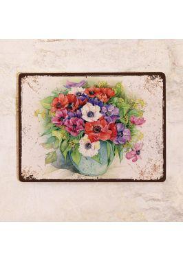 Табличка  Букет цветов
