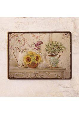 Декоративная табличка Теплый натюрморт в стиле прованс