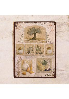 Табличка  Прованс, натюрморты и олива