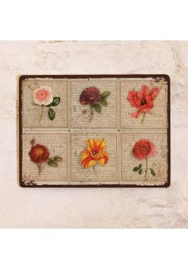 Декоративная табличка Прованс цветы