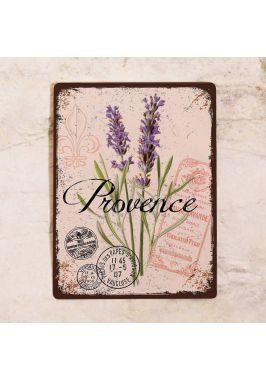 Декоративная табличка Прованс и лаванда