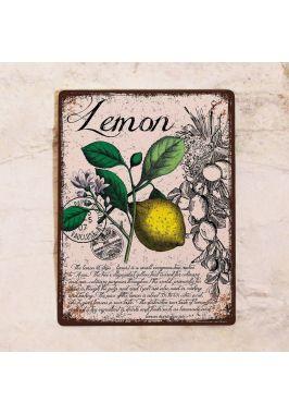Табличка  Прованс лимон