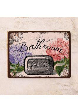 Табличка в стиле  Прованс Bathroom