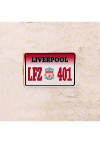 Автомобильный номер Liverpool