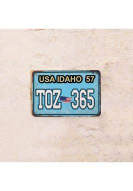Автомобильный номер IDAHO