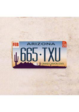 Американский номер на машину Аризона