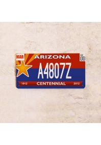 Автомобильный номер Аризона