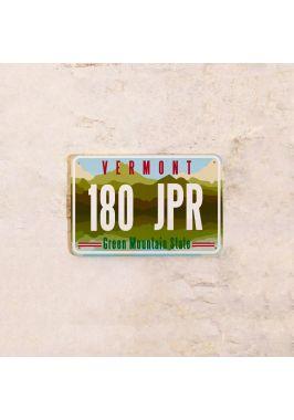 Американский номер на машину Вермонт