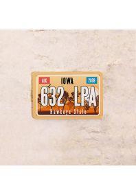 Автомобильный номер Айова