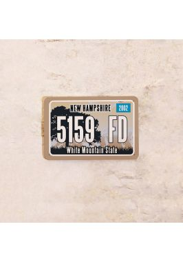 Американский номер на машину Нью Гемпшир