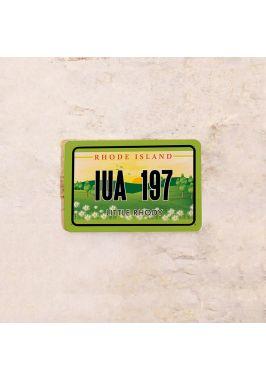 Американский номер на машину Род Айленд