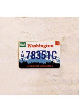 Автомобильный номер Вашингтон