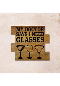 Glasses 45x40см