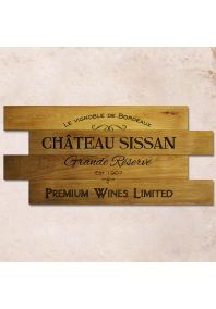 Chateau Sissan 85х40см