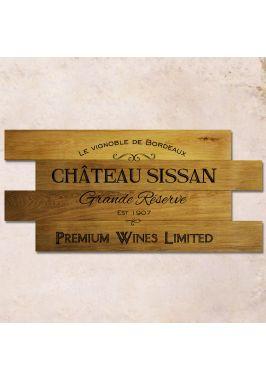 Дубовое панно Chateau Sissan