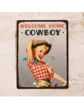 Welcome home, cowboy