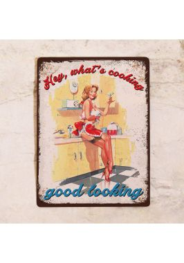 Декоративная табличка What's cooking