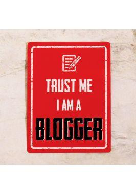 Офисная табличка Blogger