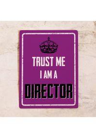 Офисная табличка Director