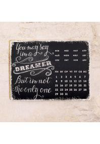 Металлический календарь на 2016 г.  Dreamer