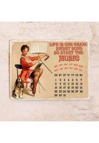Вечный календарь Start the music