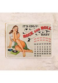 Бесконечный календарь Rock and roll baby