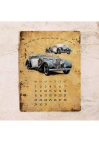 Вечный календарь Old cars