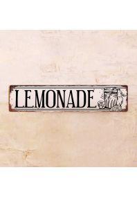 Жестяная табличка Lemonade