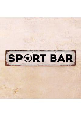 Жестяная табличка Sport Bar
