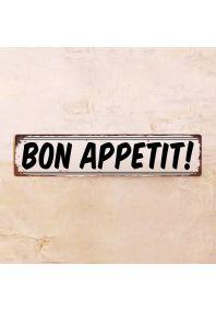 Табличка Bon Appetit!