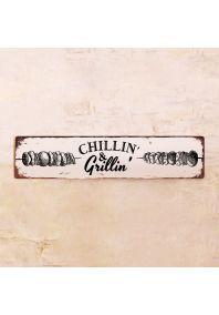 Табличка Chillin' & Grillin'
