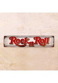 Жестяная табличка Rock-n-Roll