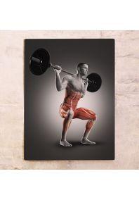 Табличка Работа мышц