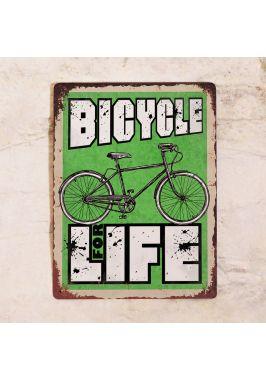 Металлический постер Bicycle for Life