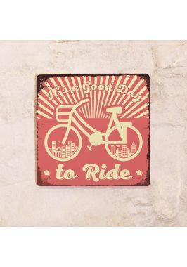 Металлический постер Good day to Ride
