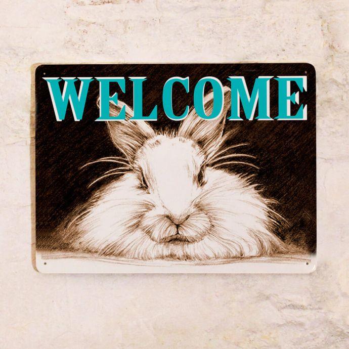 Табличка Welcome