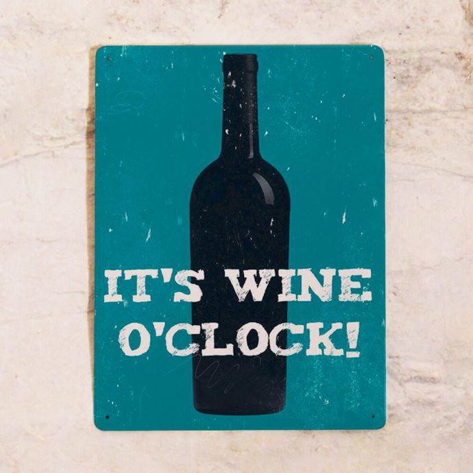 интерьерная табличка для бара вино