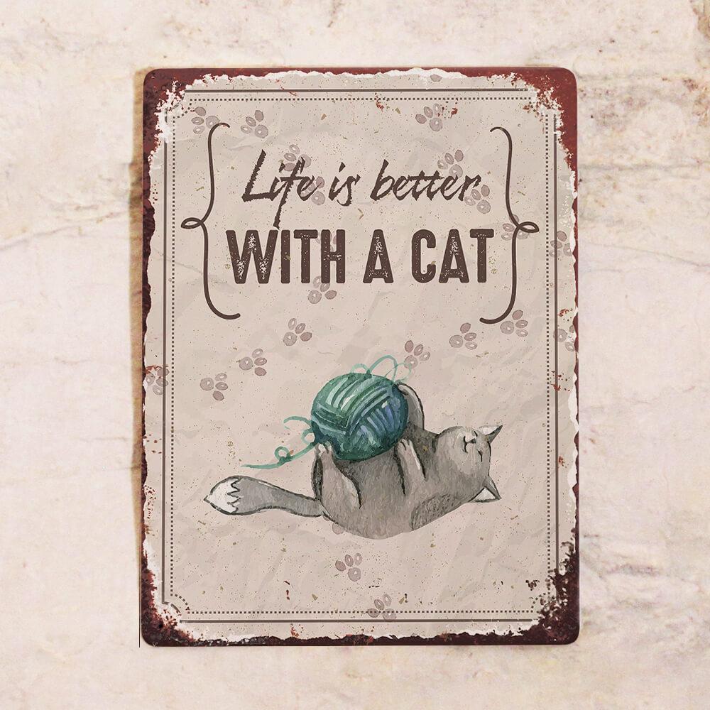 Милые таблички с котиками