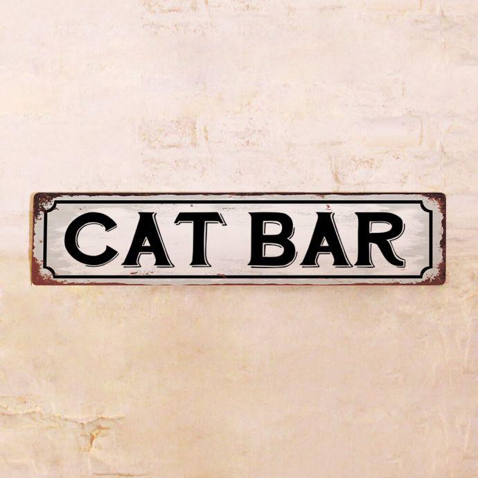 Табличка пор котов
